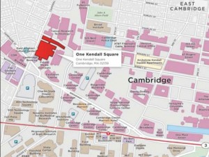One Kendall Sq Map